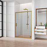 Душевая дверь в нишу Kubele DE019D2-CLN-BR 100 см, профиль бронза, фото 2