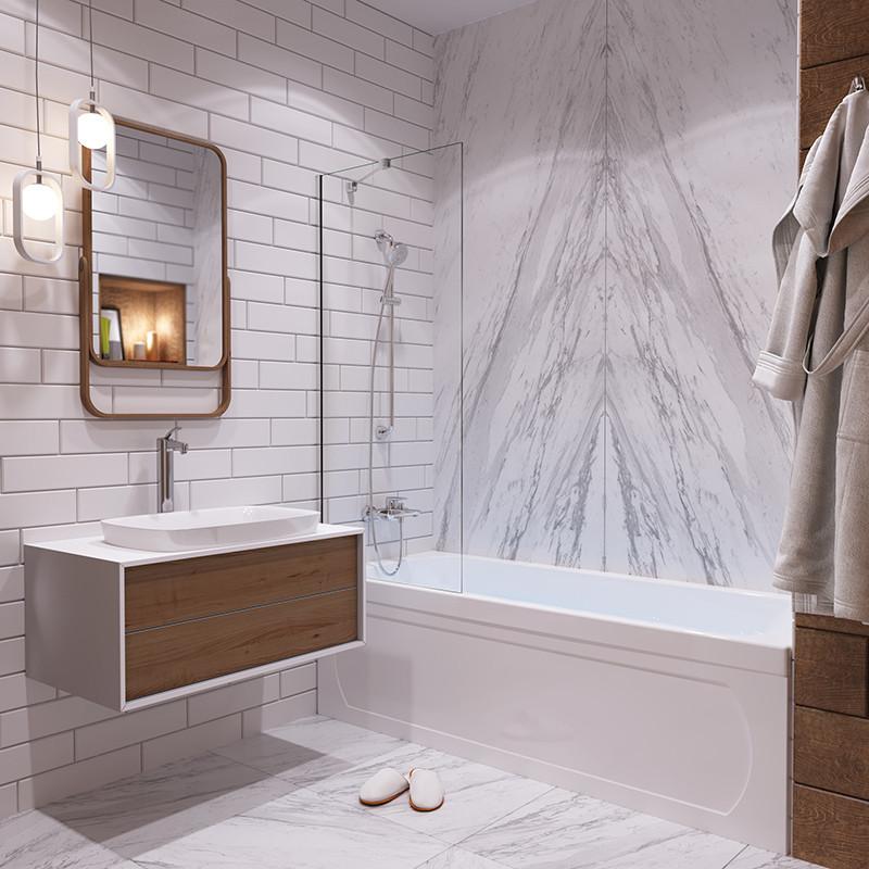 Акриловая ванна 1ACReal Стандарт Гамма 150 см
