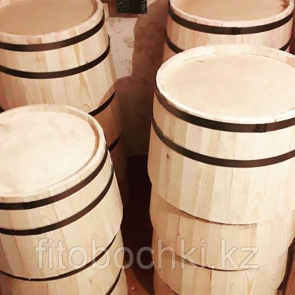 Срез деревянной декоративной бочки H300 * D500 мм.