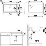 Мойка кухонная Blanco Etagon 700-IF, фото 6