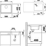 Мойка кухонная Blanco Etagon 500-IF, фото 4