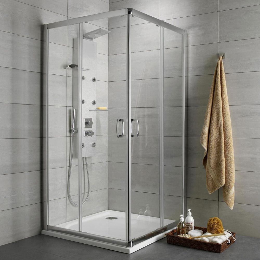 Душевой уголок Radaway Premium Plus D 80x90x190 прозрачное стекло
