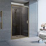 Душевая дверь в нишу Vegas Glass ZP 110 05 05 профиль бронза, стекло бронза, фото 2