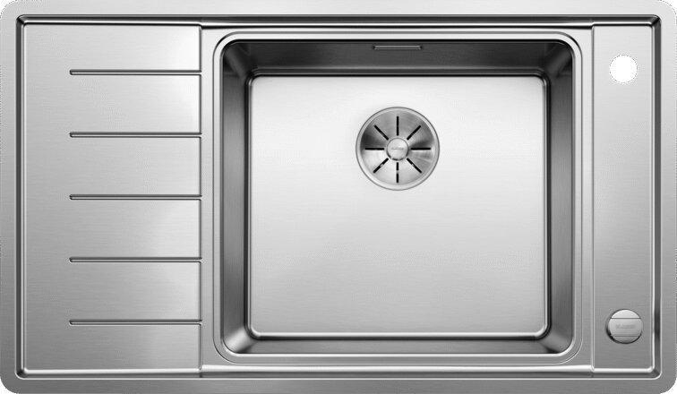 Мойка кухонная Blanco Andano XL 6S-IF Compact R, клапан-автомат