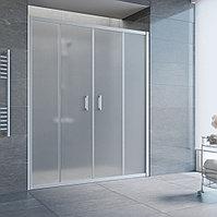 Душевая дверь в нишу Vegas Glass Z2P 210 07 10 профиль матовый хром, стекло сатин