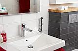 Смеситель Oras Cubista 2806 для раковины с гигиеническим душем, фото 2
