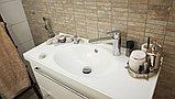 Смеситель Oras Cubista 2806 для раковины с гигиеническим душем, фото 4