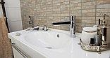Смеситель Oras Cubista 2806 для раковины с гигиеническим душем, фото 5