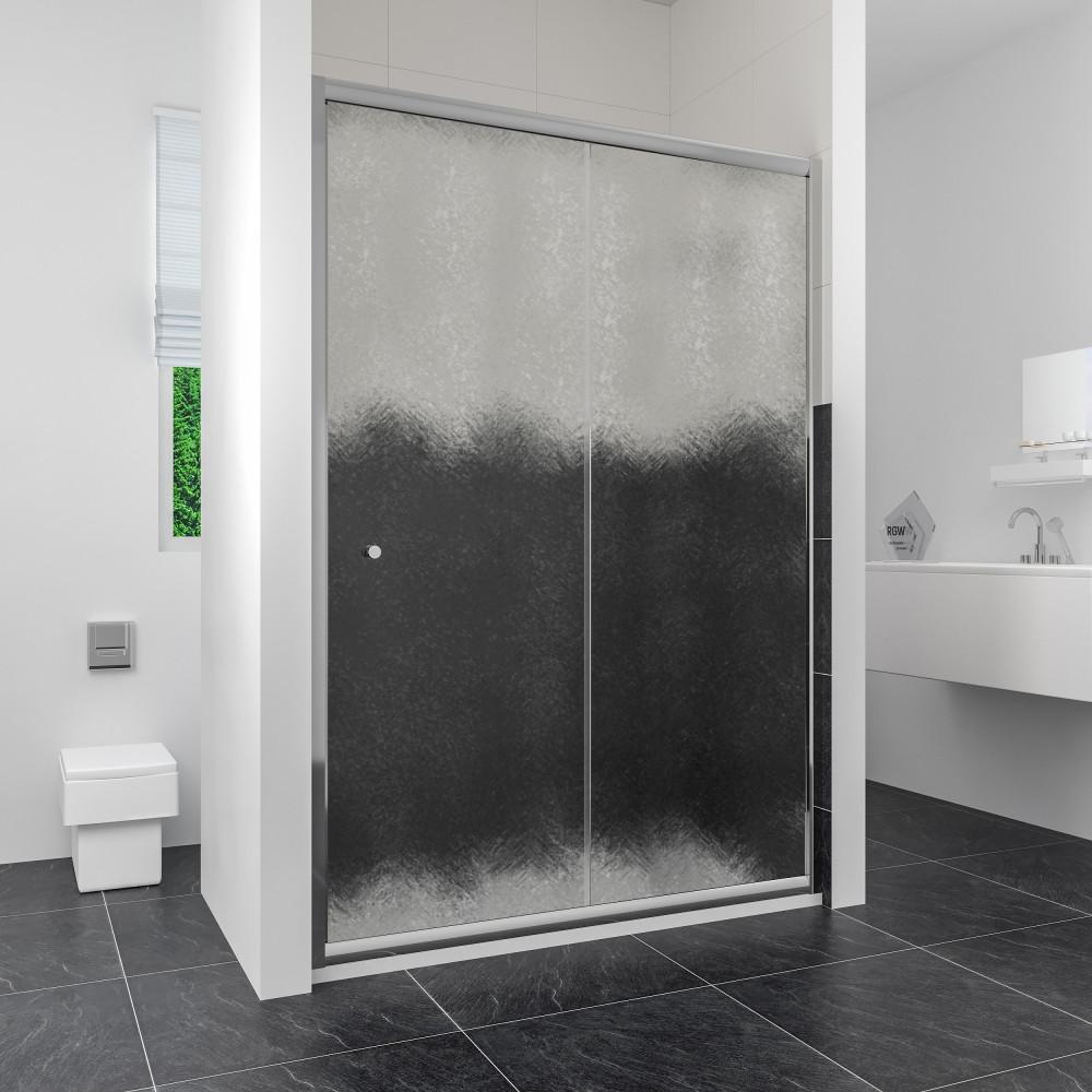 Душевая дверь в нишу RGW Classic CL-12 (1360-1410)x1850 стекло шиншилла
