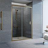 Душевая дверь в нишу Vegas Glass ZP 130 05 01 профиль бронза, стекло прозрачное, фото 2