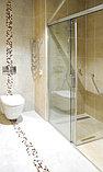 Душевая дверь в нишу GuteWetter Slide Door GK-862 левая 110 см стекло бесцветное, профиль хром, фото 2
