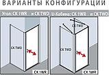 Душевой уголок Kermi Cada XS CK 1WR 08020 VPK 80 см, R, фото 6