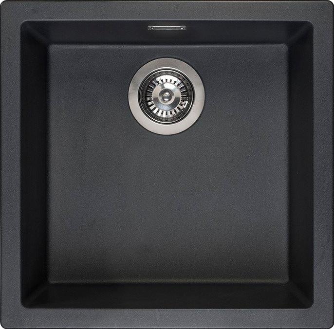 Мойка кухонная Reginox Amsterdam 40 Black Silvery 3,5'' (R32312)