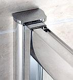 Шторка на ванну Cezares Pratico VF2 150/140 C Cr, фото 3