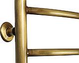 Полотенцесушитель водяной Domoterm Калипсо П7 50x70, античная бронза, фото 3