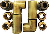 Полотенцесушитель водяной Domoterm Калипсо П7 50x70, античная бронза, фото 4