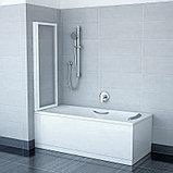 Шторка на ванну Ravak VS2 105 Grape, профиль белый, фото 4