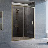 Душевая дверь в нишу Vegas Glass ZP 140 05 05 профиль бронза, стекло бронза, фото 2