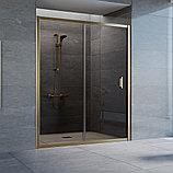 Душевая дверь в нишу Vegas Glass ZP 160 05 05 профиль бронза, стекло бронза, фото 2