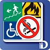 Предупреждающие стикеры и наклейки.