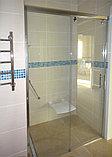 Душевая дверь в нишу GuteWetter Slide Door GK-862 левая 135 см стекло бесцветное, профиль хром, фото 4