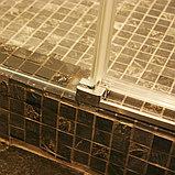 Душевая дверь в нишу GuteWetter Slide Door GK-862 левая 135 см стекло бесцветное, профиль хром, фото 9