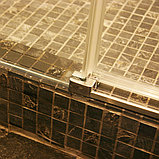 Душевая дверь в нишу GuteWetter Slide Door GK-862 левая 150 см стекло бесцветное, профиль хром, фото 9
