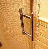 Душевая дверь в нишу GuteWetter Slide Door GK-862 левая 150 см стекло бесцветное, профиль хром, фото 10