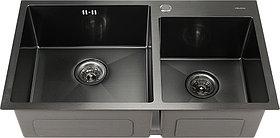 Мойка кухонная Melana S8045HB графит