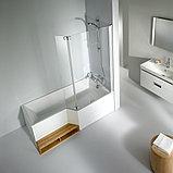 Акриловая ванна Jacob Delafon Bain-Douche Neo 180 R + слив-перелив, фото 4