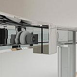 Душевой уголок Kubele DE018RG-CLN-CH-100х100х200, фото 4