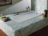 Стальная ванна Roca Contesa 140x70, фото 2