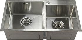 Мойка кухонная Melana S7843H сатин