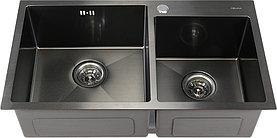 Мойка кухонная Melana S7843HB графит