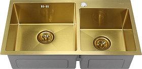 Мойка кухонная Melana S7843HG золото