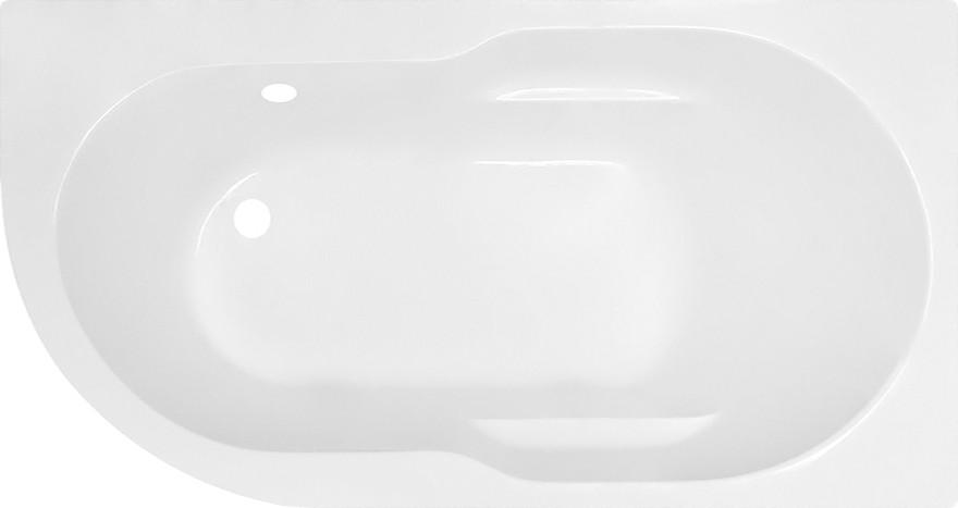 Акриловая ванна Royal Bath Azur RB 614201 R 150 см + слив-перелив