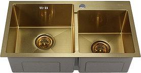 Мойка кухонная Melana S7240HG золото
