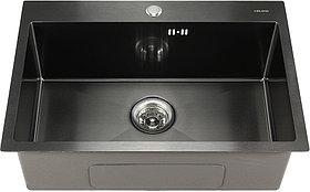 Мойка кухонная Melana D6545HB графит