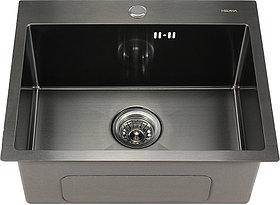 Мойка кухонная Melana D5343HB графит