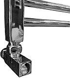 Полотенцесушитель водяной Ника Modern ЛМ-2 100/40, хром, фото 2
