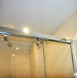 Душевая дверь в нишу GuteWetter Slide Door GK-864 120 см стекло бесцветное, профиль хром, фото 6