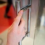 Душевая дверь в нишу GuteWetter Slide Door GK-864 120 см стекло бесцветное, профиль хром, фото 9