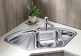 Мойка кухонная Blanco Delta Blancodelta-IF нержавеющая сталь, фото 2