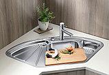 Мойка кухонная Blanco Delta Blancodelta-IF нержавеющая сталь, фото 3
