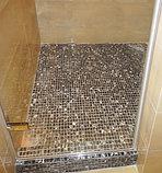 Душевая дверь в нишу GuteWetter Trend Door GK-861 левая 75 см стекло бесцветное Two, фурнитура хром, фото 5