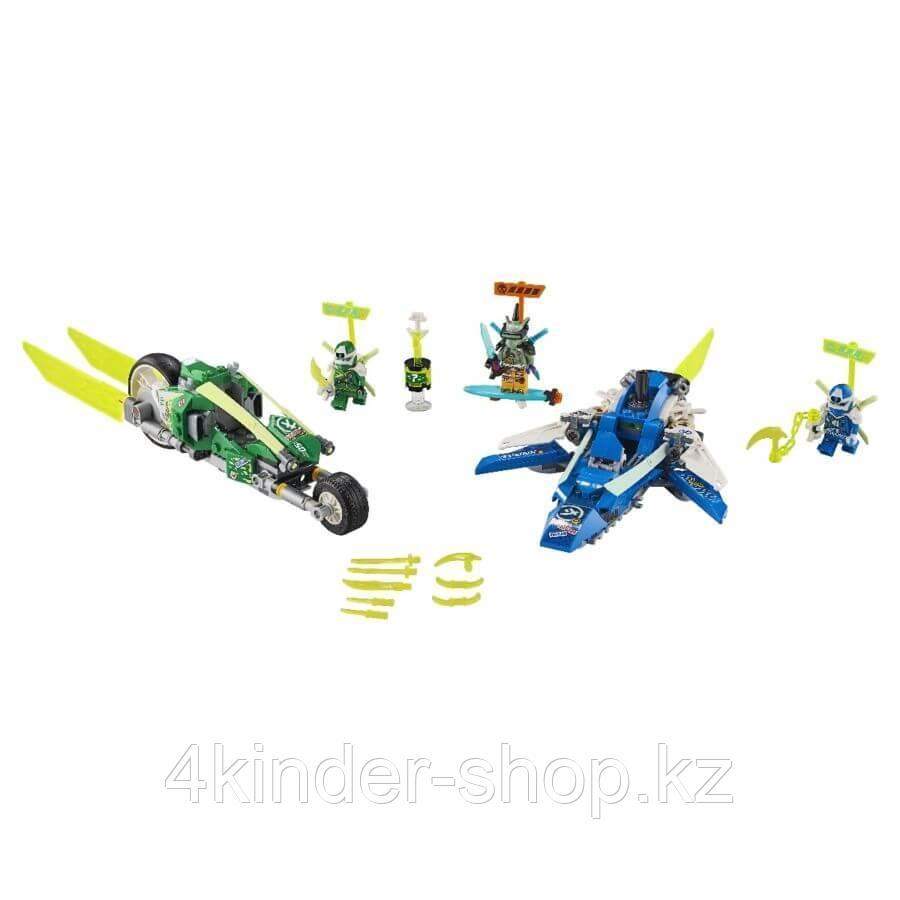 LEGO: Скоростные машины Джея и Ллойда Ninjago 71709 - фото 2