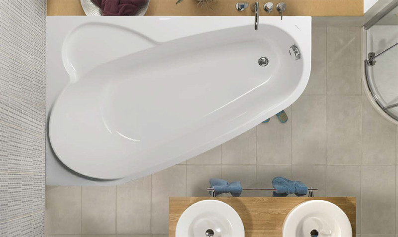 Акриловая ванна Vagnerplast Selena 160 L
