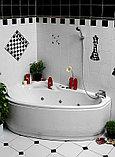 Акриловая ванна Vagnerplast Selena 160 L, фото 2