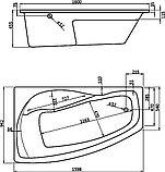 Акриловая ванна Santek Майорка XL L, фото 4