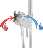Гигиенический душ Nice Giulini Futuro FSH25 со смесителем, С ВНУТРЕННЕЙ ЧАСТЬЮ, фото 2